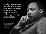 Martin Luther King, Tom Hayden and April 4 2017