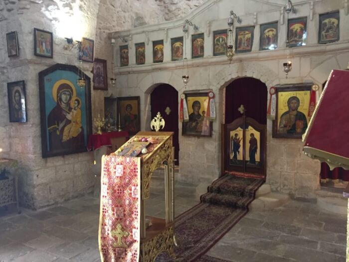A visit to Saint George Church in Burqin