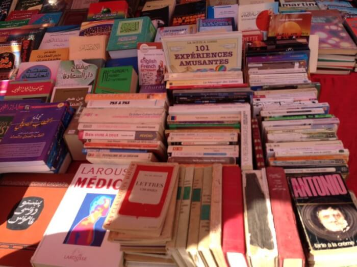 Something for everyone at La Grande-Poste Garden Vendor Books