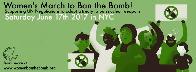 Taking it to the Streets: March and Rally for The Nuclear Ban