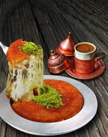 Kunafa (K'nafa) Photo courtesy of Abdennour Toumi