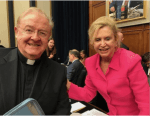 Sean McManus and Congresswoman Carolyn Maloney join in support of MacBride Principles