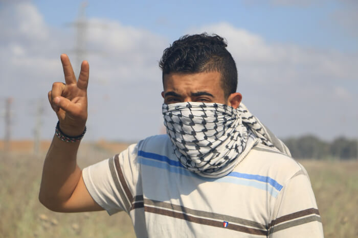 Palestinians injured in protests supporting hunger strikers