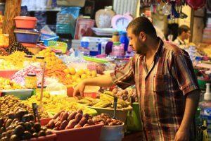 Palestinian Muslims begin the commemoration of Ramadan. Photo courtesy of Ahmad Hasaballah.