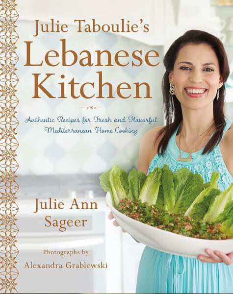 Julie Taboulie's Lebanese Kitchen entre to great recipes