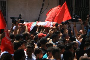 Pictures of the day of the funeral of Martyr Mohammed Majid Bakr, 28, who was shot yesterday by the Israeli occupation during his work as a fisherman in the sea of Gaza City Photography- Ahmed Hasaballah4.jpg