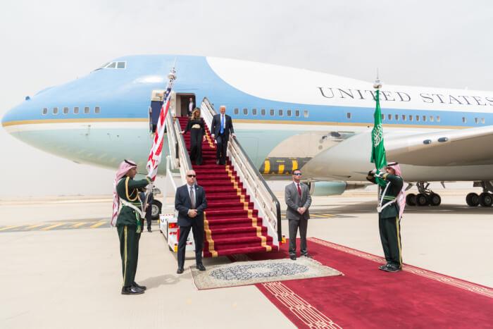 Trump signs $110 billion arms deal with Saudis