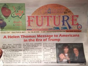 Eileen Fleming's blog posts and the posts of other writers at The Arab Daily News are often reprinted and shared by other American Arab newspapers.