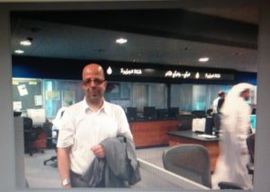 Abdennour Toumi at AlJazeera Offices