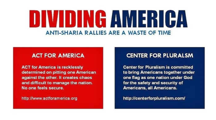 Anti-Sharia Rallies are a waste of time!