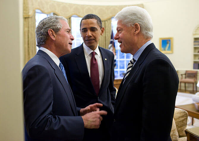 Who was better for Palestinians, Trump, Bush or Obama?
