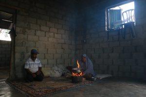 Ziad Awad family in Gaza observe Ramadan. Photo by Ahmad Hasabllah