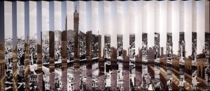 Ahmed Angawi, Wijha 2:148 - And everyone has a direction to which they should turn, 2013, Digital Lenticular Print mounted on Aluminium