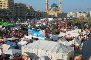 Anti-government rally in Beirut, Lebanon. (Photo credit: Wikipedia)