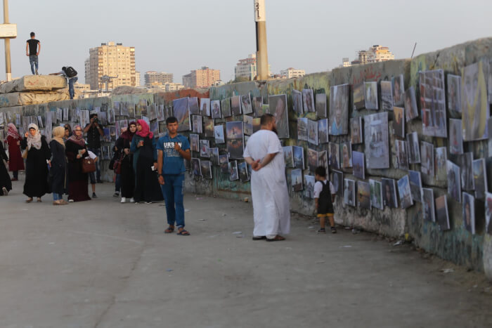 Fadi Thabit photo exhibit documents Gaza Life