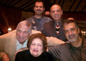 Jack Shaheen was one of the celebrities honoring former White House Dean and Journalist Helen Thomas at the 2011 Images and Perception Conferences hosted by activist Siham Awada Jaafar in Dearborn. Photo courtesy of Ray Hanania