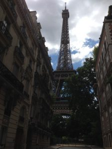 Eiffel Tower street view. Courtesy of Abdennour Toumi