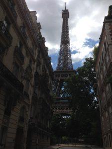Eiffel Tower street view. Courtesy of Abdennour Toumi