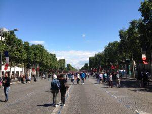 Paris view. Photo courtesy of Abdennour Toumi