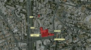 Sheikh Jarrah neighborhood. Courtesy of Peace Now