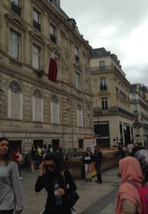 Paris Street scenes. Photo courtesy of Abdennour Toumi