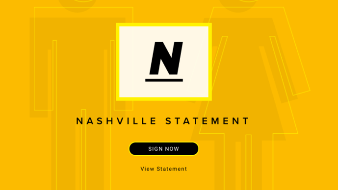 The Nashville Statement and The Christian Manifesto