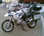 Israeli Police motorcycles. Photo courtesy of Wikipedia