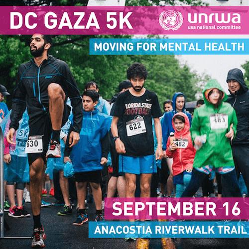 American Muslims for Palestine hosts a marathon in Washington DC Sept. 16, 2017
