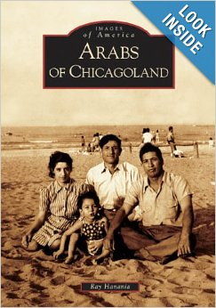 "Cover of Ray Hanania's book ""Arabs of Chicagoland"" published in 2005 by Aracdia Publishing"