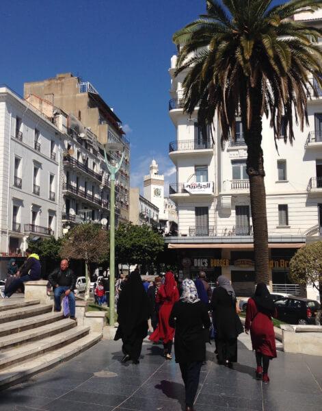 Algerian street scene. Photo courtesy of Abdennour Toumi