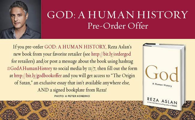 Reza Aslan book promo