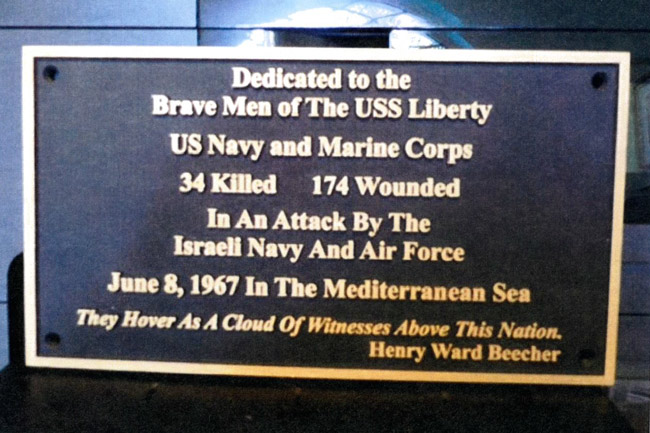 Open Letter to U.S. Senators RE: Veterans Day and USS Liberty Veterans Association