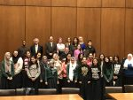 November 2017 Arab American Heritage Month tour of the Richard J. Daley Center hosted by Chief Judge Timothy Evans.