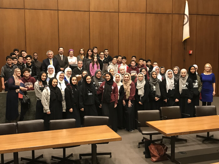 2017 Annual Arab-American Heritage Month Courthouse Tour