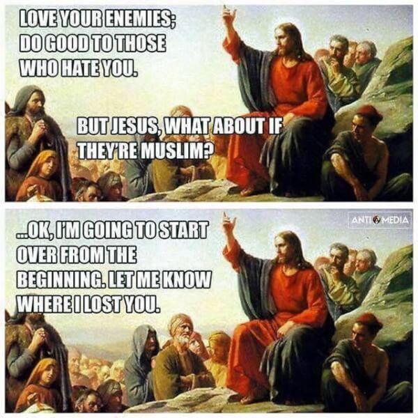 What Jesus Would Say @POTUS Trump's Tweets and Retweets