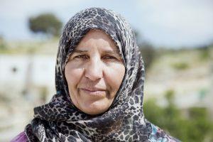 Photo from B'Tselem's 50 year exhibit showcasing Palestinians born in 1967. Photo courtesy of B'Tselem