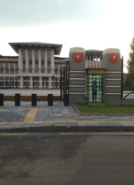 Turkish Presidential Palace in Ankara. Photo courtesy of Andenour Toumi