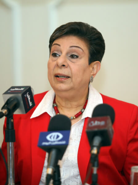 Palestinian leader Ashrawi warns Jerusalem move will end peace process