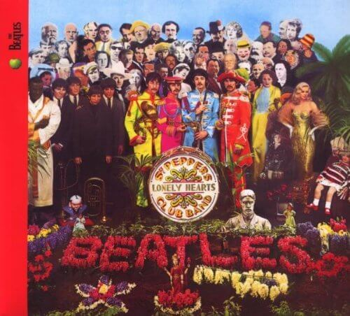 """Cover of """"Sgt. Pepper's Lonely Hearts Clu..."""