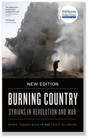 "New Book: ""Burning Country"" – New edition, Syrians in Revolution and War"