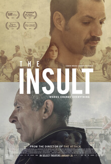 "Lebanese film ""The Insult"" is a 2018 finalist for the Academy Awards in the category of Best Foreign Film. Photo courtesy of Wikipedia"