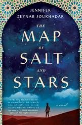 Book Cover of The Map of Salt and Stars by author Jennifer Zeynab