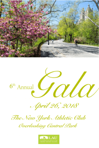 Lebanese American University Gala New York City @ New York City Athletic Club