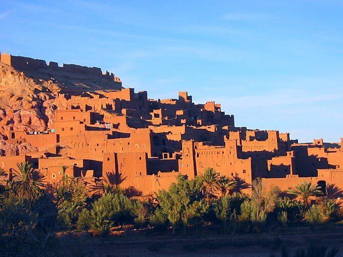 The kasbah of Aït Benhaddou, Morocco