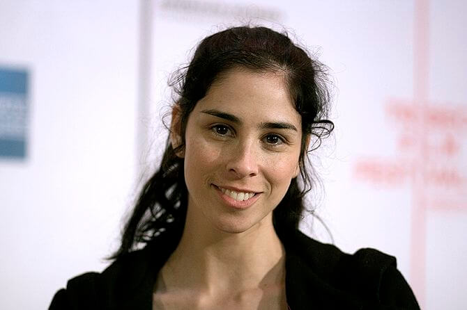 English: Sarah Silverman at the Tribeca Film F...