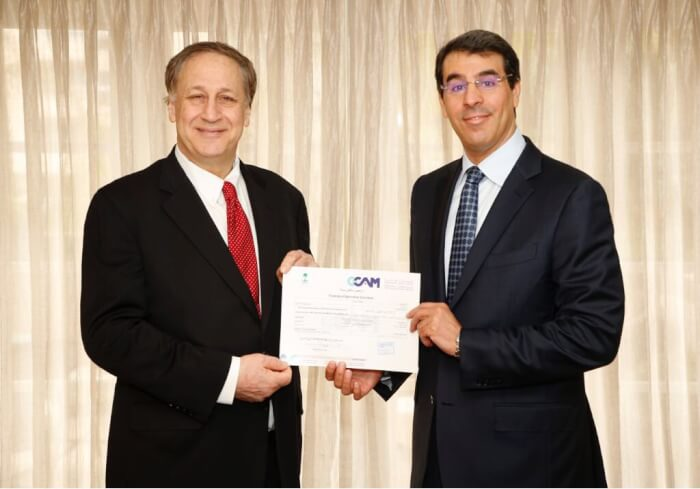 H.E Minister of Culture Information @AwwadSalawwad awarded @AMCtheaters