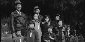 """Image from the movie """"And Then They Came for Us."""" which depicts the experiences of Japanese during World War II. Photo courtesy of ADC"""