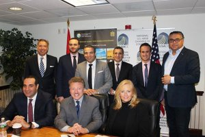 Morocco tourism group showcased by the National US-Arab Chamber of Commerce April 23, 2018. Photo courtesy of the NUSCC