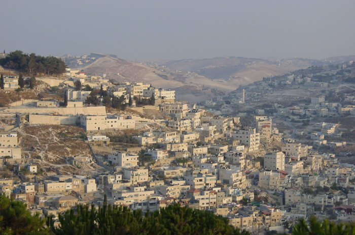 View of a Palestinian Arab community in the Israeli occupied West Bank. Photo courtesy of Ray Hanania
