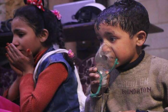 Assad regime uses chemicals to kill civilians